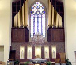 Opus 59 Organ in Parrish of St. Elizabeth Ann Seton, Carnegie, PA
