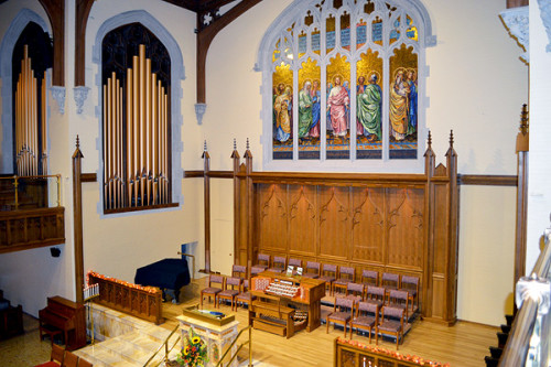 PJM Organ at the Church of the Covenant, Scranton, Pennsylvania