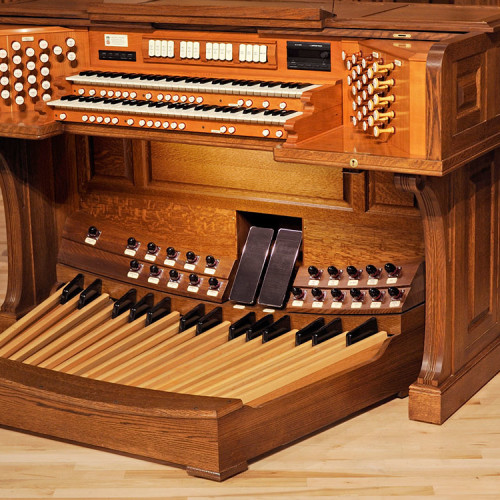 Signiture And Custom Pipe Organ Consoles