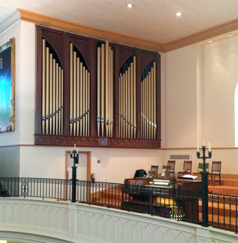 Opus 60 Organ at Zion Lutheran Church, Baltimore, MD