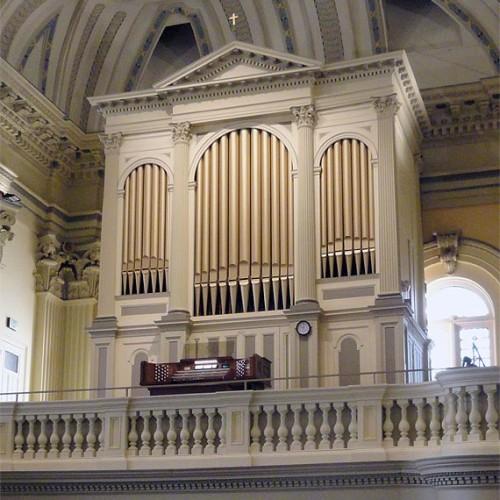 Opus 56 Organ in Catholic Community of St. Ignatius, Baltimore, MD