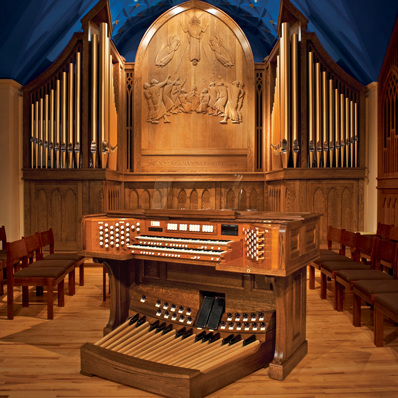 Church Of The Ascension Opus 52 Color Organ